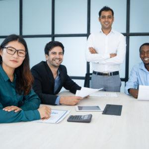 équipe d'experts du développement commerciale sponsoring