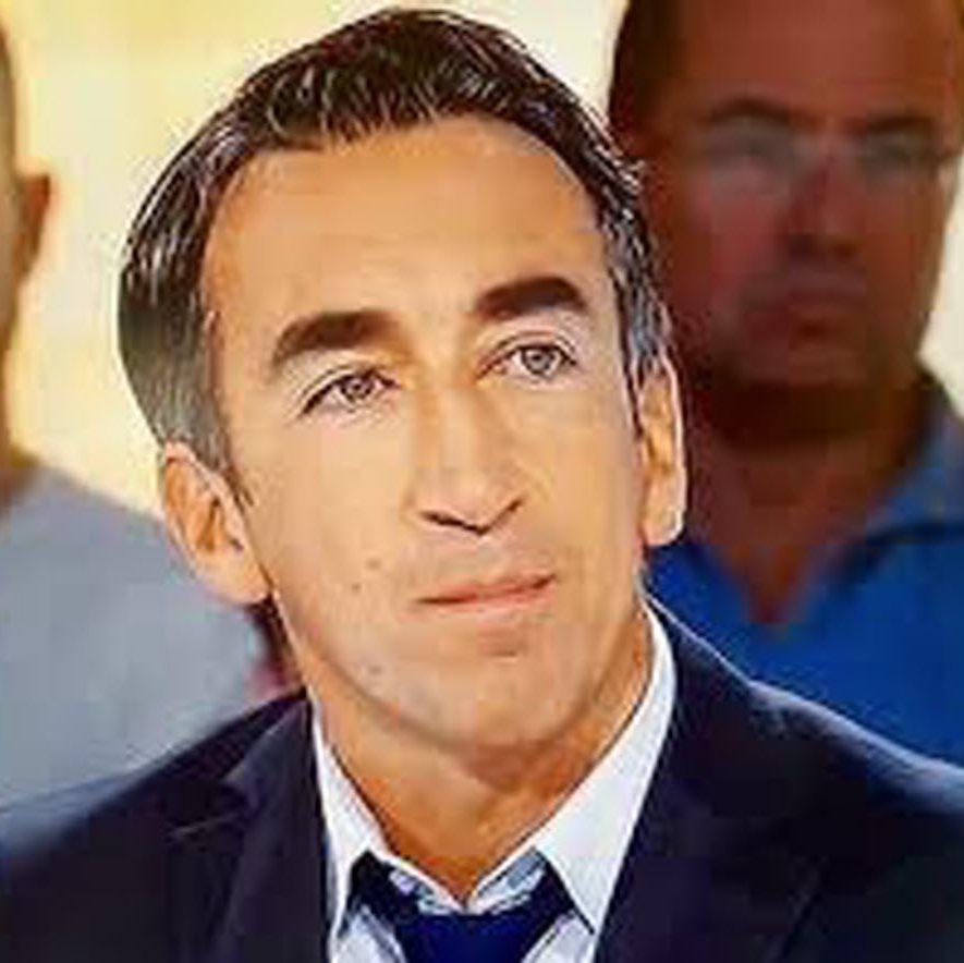Screenshot d'Arnaud Romera sur le plateau de France télévision, Stade 2